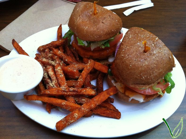 Veggie Grill Buffalo Bomber | A Vegan in Progress